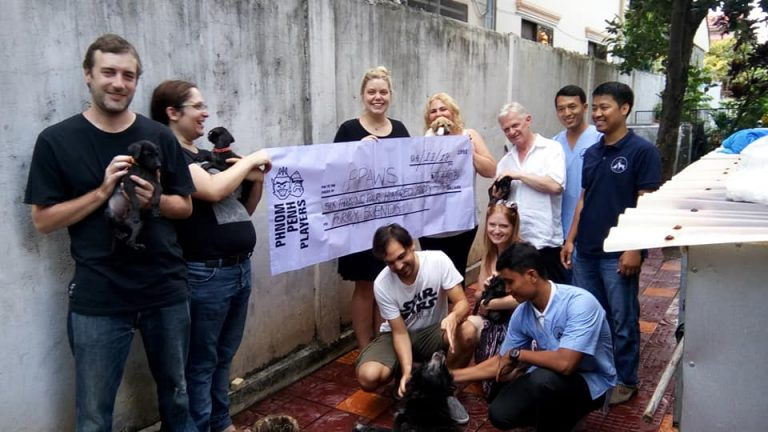 Phnom Penh Players Raised over $6,000 for PPAWS