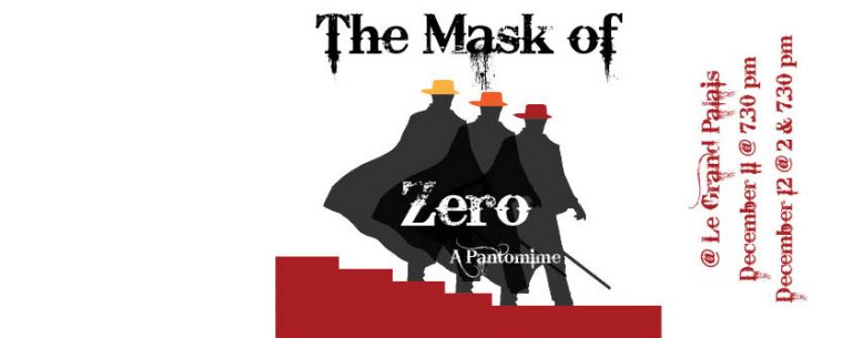 The Mask of Zero: A Pantomime