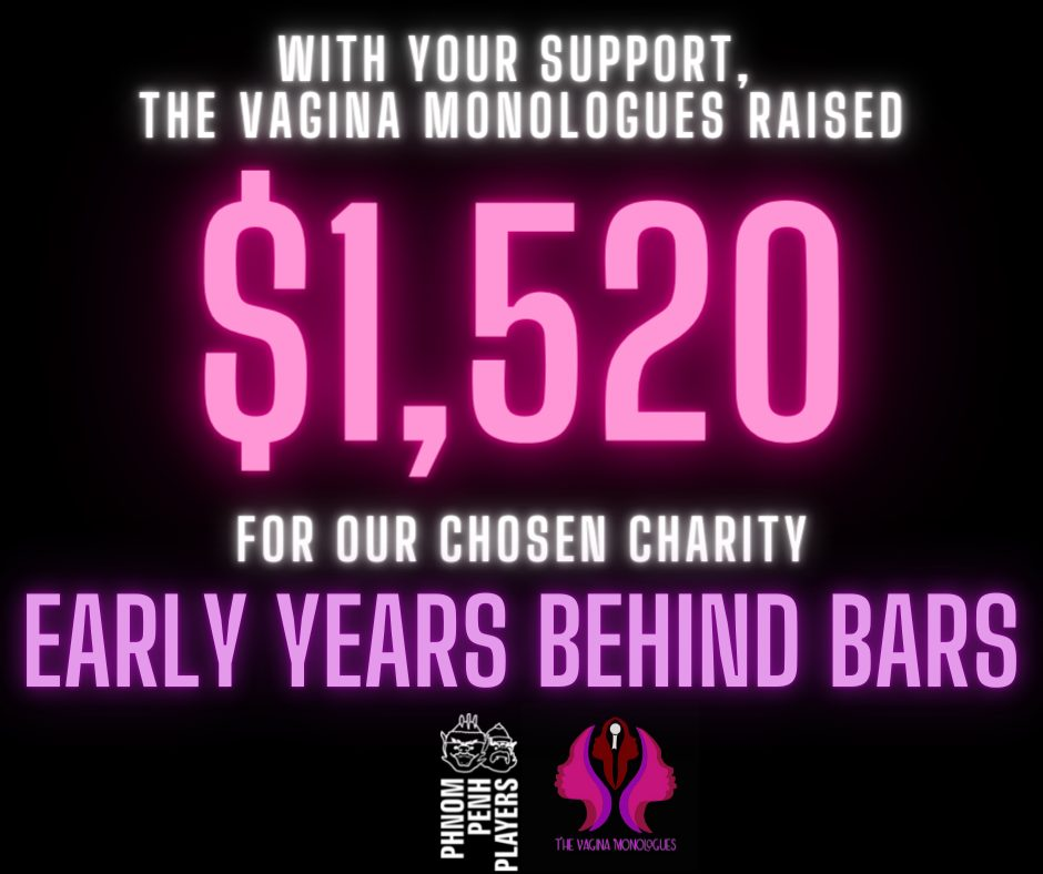 The Vagina Monologues Raised $1,520!